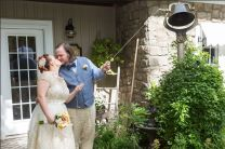Doughty; Bell Ringing 1; Glen Garden Weddings; Lynn Prescott Photography (2)
