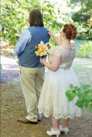 Doughty; First Look 3; Glen Garden Weddings; Lynn Prescott Photography