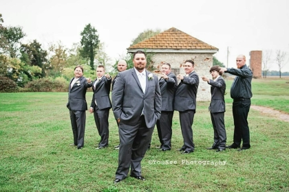 Yuen; Bridal Party Guys 2; Belle Grove Plantation; YouSee Photography