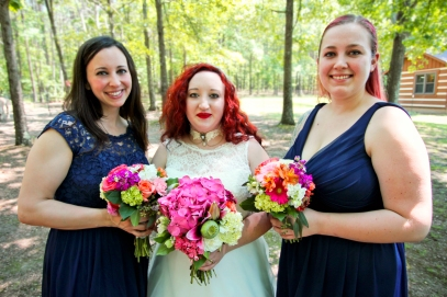 B_Smith, T&R; Bridal Party 2; Private Residence; Kathleen Solarczyk Photographer
