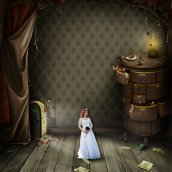 Alice 2; Rixey Manor; Dawn Gardner Photography; Blush Bridal Boutique; RavensBetrothed