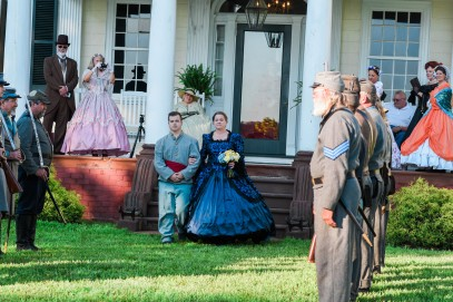 Darnell; Processional 6; Belle Grove Plantation; Amanda Day Photography