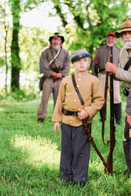 Darnell; Reenactors 2; Belle Grove Plantation; Amanda Day Photography