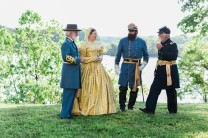 Darnell; Reenactors 3; Belle Grove Plantation; Amanda Day Photography